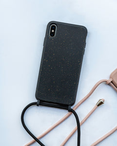 iPhone eco friendly black rope fashion case