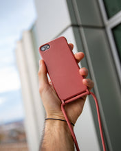 Load image into Gallery viewer, iPhone eco friendly red rope fashion case