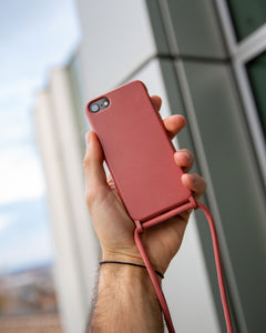 iPhone eco friendly red rope fashion case