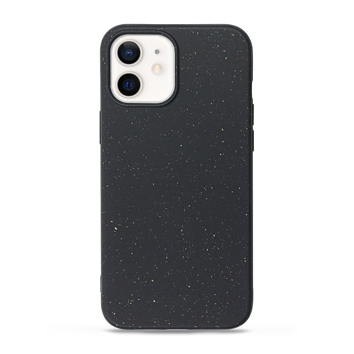 iPhone 12 cases biodegradable and compostable in black