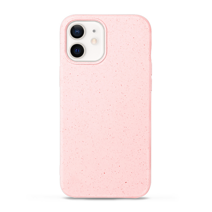 iPhone 12 cases biodegradable and compostable in pink