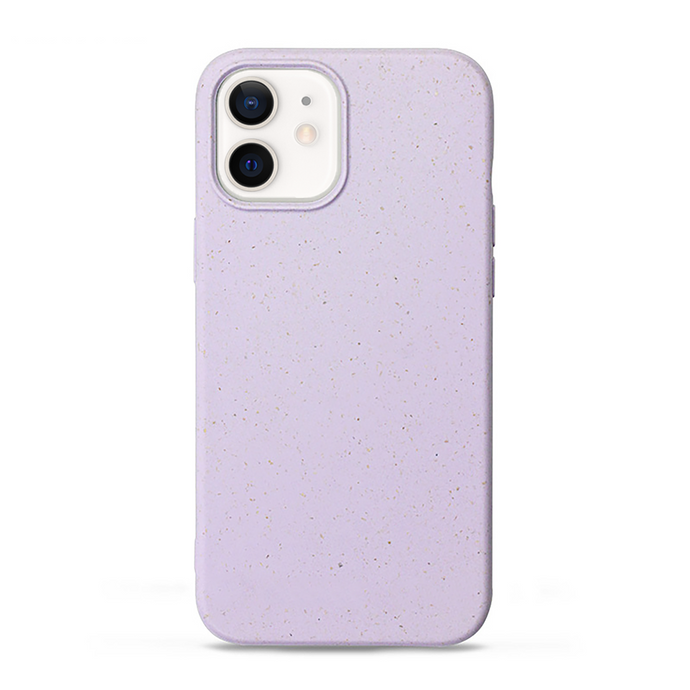 iPhone 12 cases biodegradable and compostable in purple