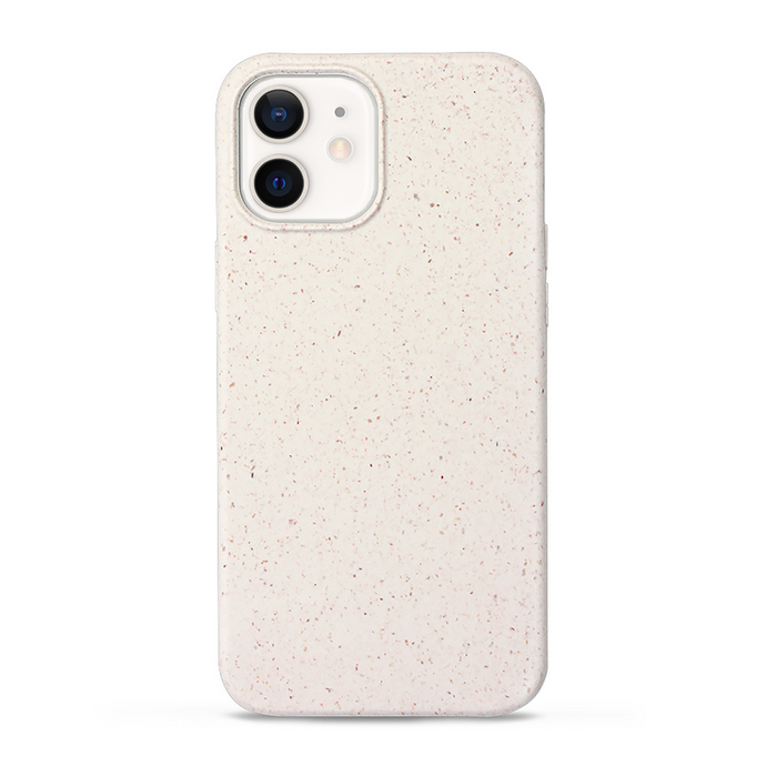 iPhone 12 cases biodegradable and compostable in white
