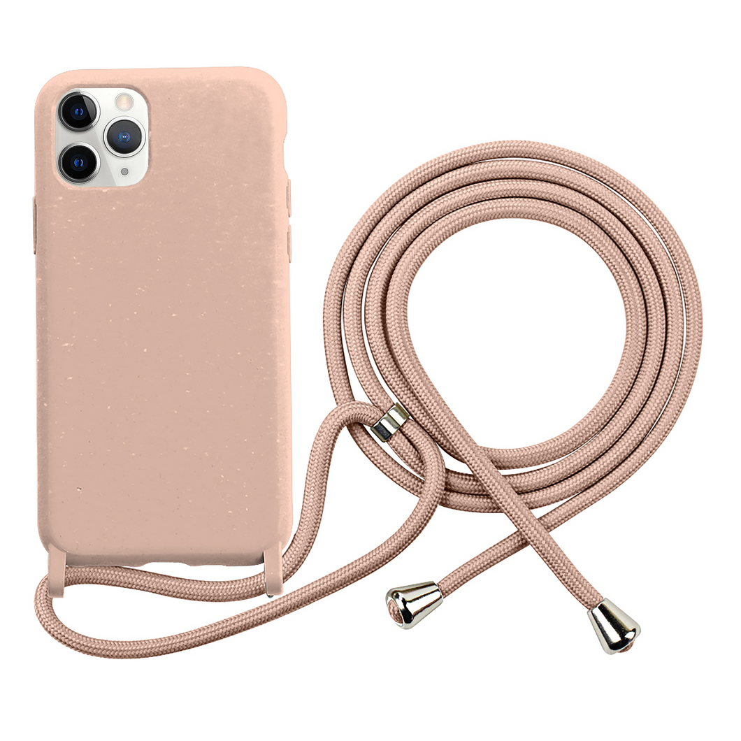 iPhone eco friendly pink rope fashion case