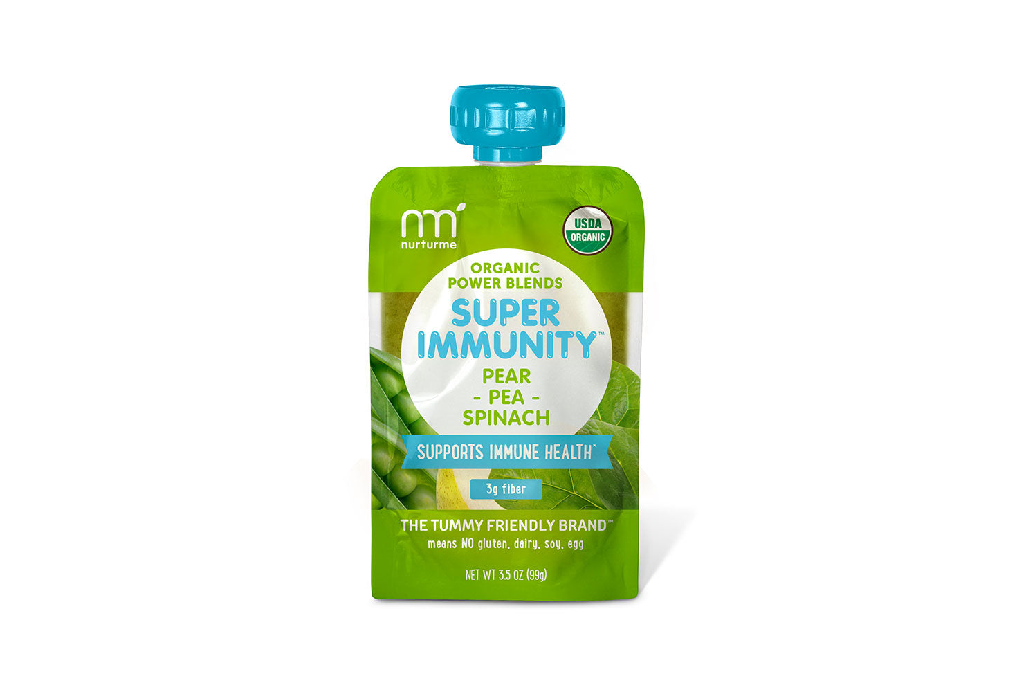 Power Blends Super Immunity: Pear, Pea and Spinach
