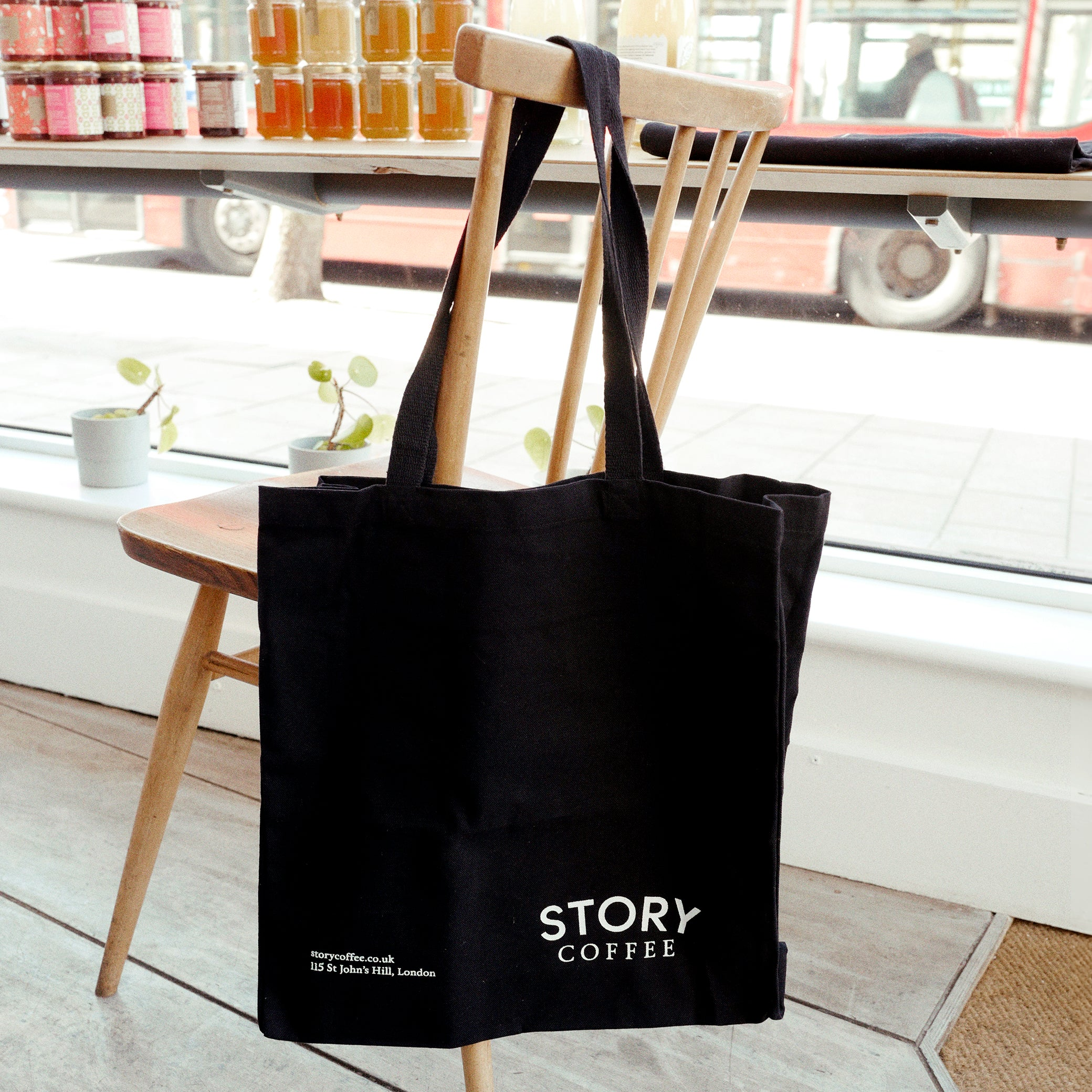Story Coffee Tote Bag