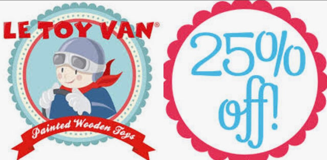 Le toy van sale 25% off