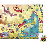 Janod - Hat boxed 54 piece puzzle - dragon