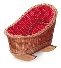 Egmont - Cradle With Red And White Heart Lining