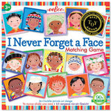 Eeboo - I Never Forget A Face Memory Game