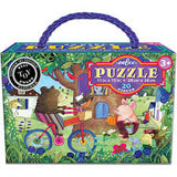 Eeboo - Bear On Bycycle 20 Piece Puzzle