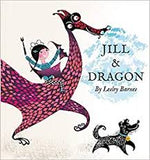 Jill and dragon by Lesley Barnes Page