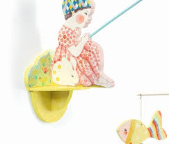 Djeco - Fishergirl Wooden Wall Hanging