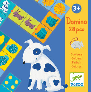 Djeco - Domino Colours
