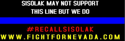 Bumper Sticker - Support the Blue
