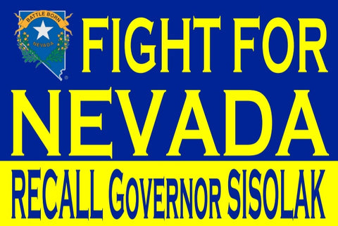 Window Decal - Fight for Nevada
