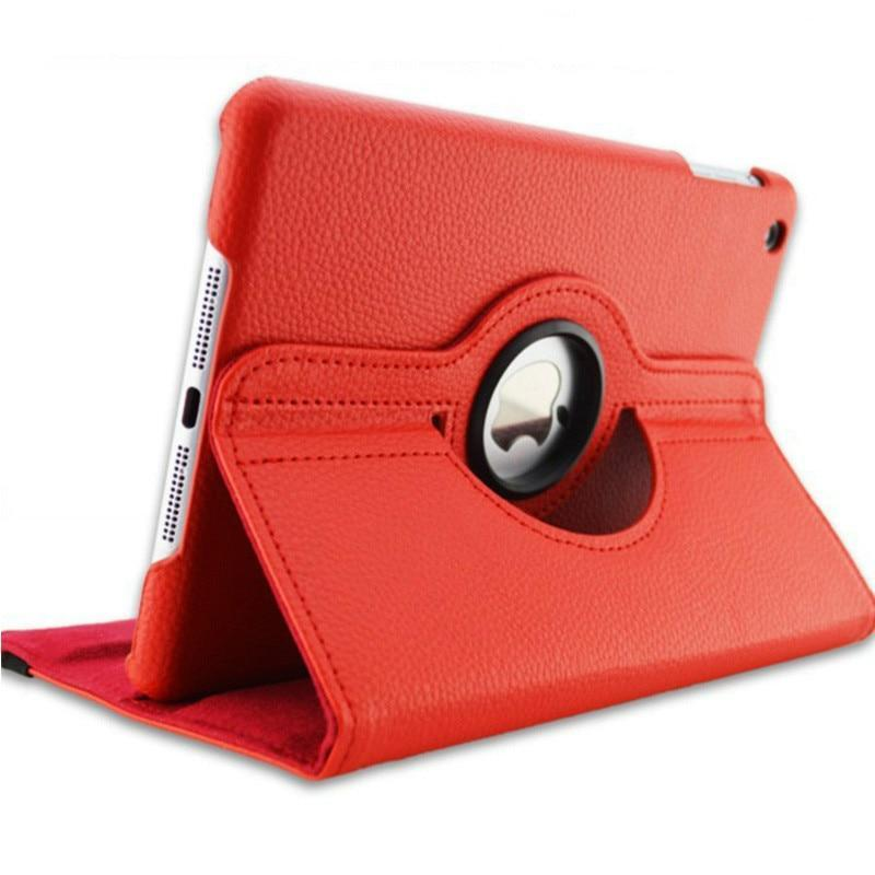360 Degree Rotating Leather Smart Cover Case for Apple iPad