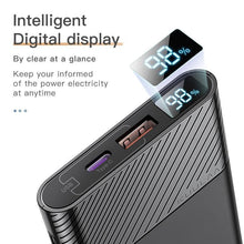 Load image into Gallery viewer, KUULAA Power Bank 10000mAh QC PD 3.0 PowerBank Fast Charging For Xiaomi Mi 10
