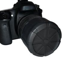 Load image into Gallery viewer, Compressible DSLR Camera Silicone Lens Cover