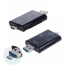 Load image into Gallery viewer, Multi-Functional Card Reader SD Micro USB 3.1