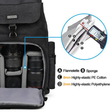 Load image into Gallery viewer, Camera Bag Polyester Camera Case For Canon Nikon Sony