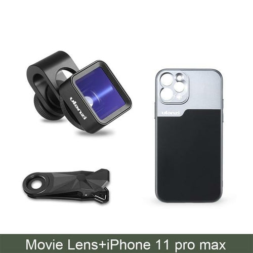 1.33X Anamorphic Lens Filmmaking Phone Camera Lens Widescreen Movie