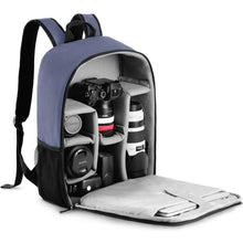 Load image into Gallery viewer, Camera Backpack Multi-Functional Digital DSLR Camera Bag Waterproof