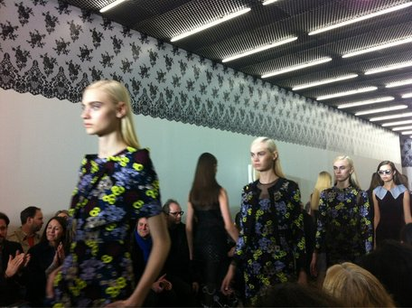 LONDON FASHION WEEK – ERDEM - HAIR BY LUKE HERSHESON