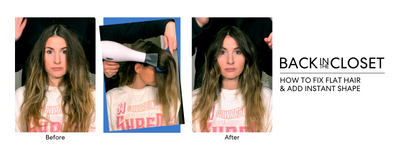 HOW TO FIX FLAT HAIR AND ADD INSTANT SHAPE