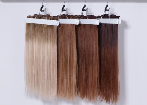 balayage clip in extension set