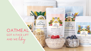 Oat of the Ordinary Organic Vegan gluten-free Superfood Overnight Oats Instant Oats High Protein Low Sugar Oatmeal