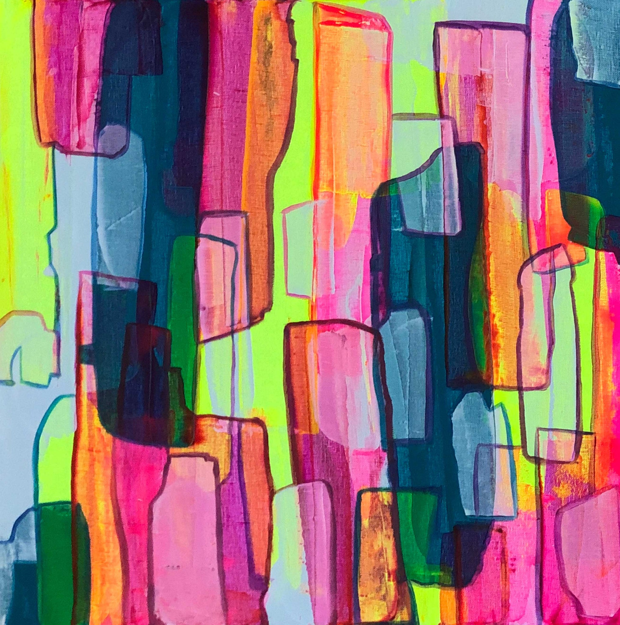 Neon Escape I – Limited Edition Art Print