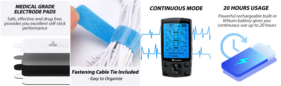 Foxpeed Tens Unit Features