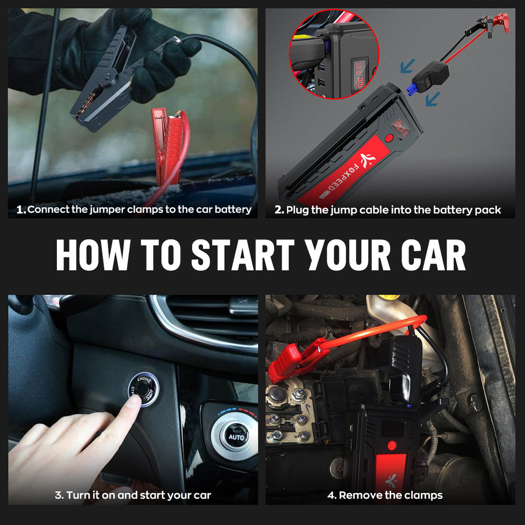 how to jump-start the car