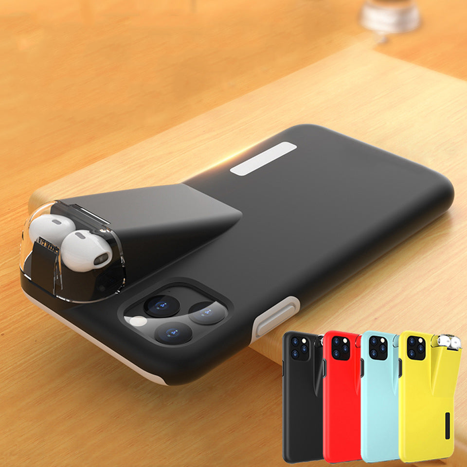 2-In-1 iPhone & Airpods Case - Iphone With Airpods Charging Box - COOLCrown Store