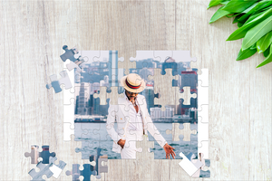 High Quality Wooden Personalized Custom Jigsaw Puzzle - 100 200 300 500 and 1000 Pieces - COOLCrown Store