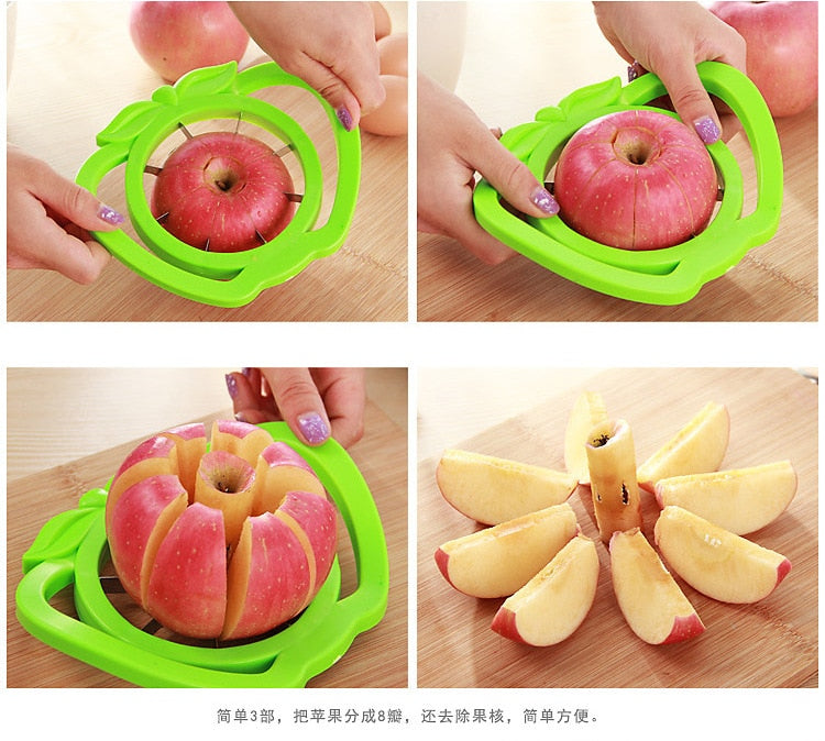 Apple Slicer Cutter Fruit Divider Tool - COOLCrown Store