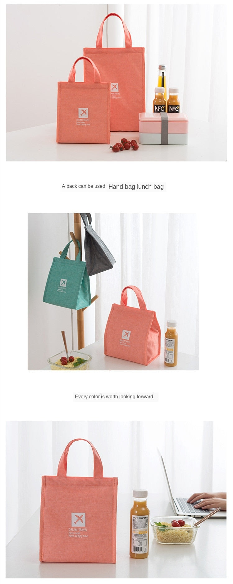 Portable Thermal Lunch Bag - COOLCrown Store