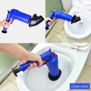 Air Pump Pressure Pipe Plunger Drain Cleaner - COOLCrown Store
