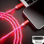 Glowing Cable Mobile Phone Charging Cables - COOLCrown Store