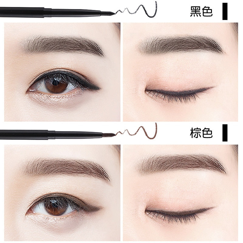 Fashion Black Long Lasting Eye Liner Pencil Waterproof Smudge-Proof - COOLCrown Store