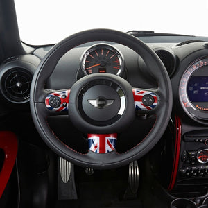 Mini Cooper Steering Wheel Stickers Cover Interior Decoration - COOLCrown Store