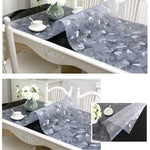 PVC Transparent Waterproof Table Carpet - COOLCrown Store