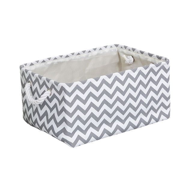 Storage Basket Foldable Linen Storage Box - COOLCrown Store