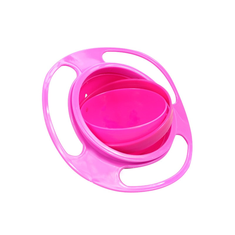 360 Rotate Spill Proof Solid Feeding Dishes - COOLCrown Store