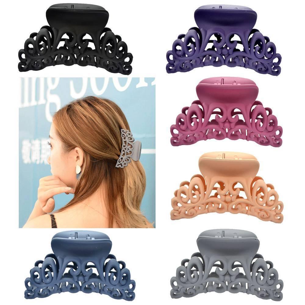 4pcs Plastic Hair Claw Clips - COOLCrown Store