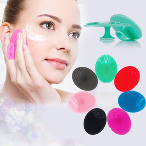 Silicone Cleansing Brush Washing Pad Facial Exfoliating Blackhead Remover - COOLCrown Store