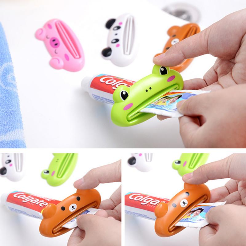 1Pcs Cute Animal Pattern Toothpaste Tube Squeezer - COOLCrown Store