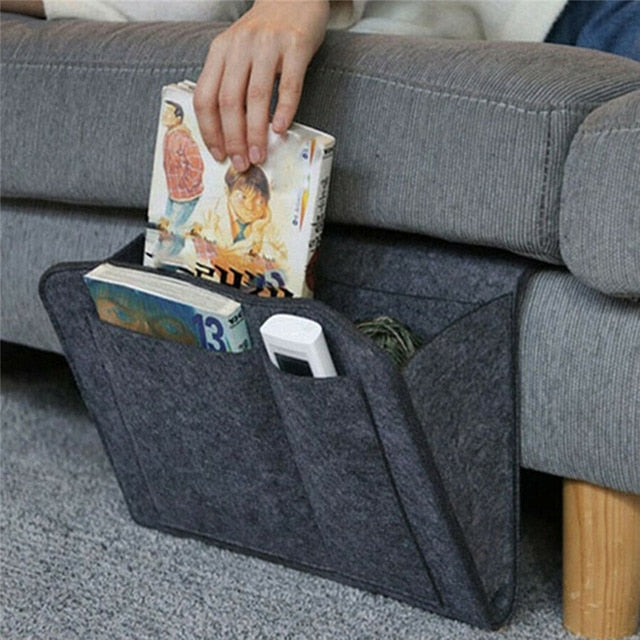 Remote Control Hanging Caddy Bedside Couch Storage Organizer - COOLCrown Store