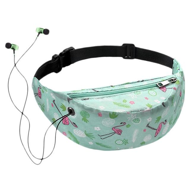 Colorful Printed Waist Bag - COOLCrown Store